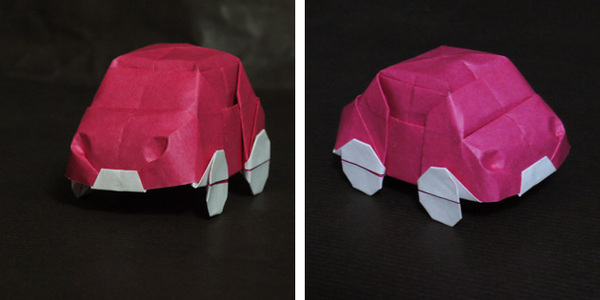 折り紙 自動車 car