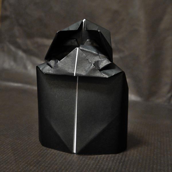 折り紙 ダースベイダー(スターウォーズ)