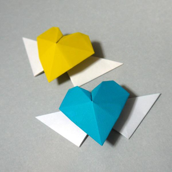 折り紙 ハート - 折り紙 Origami ...