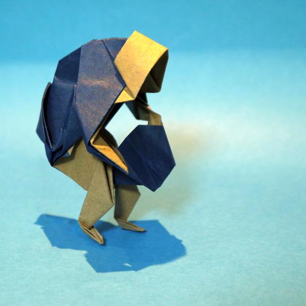 折り紙 安来節どじょうすくい
