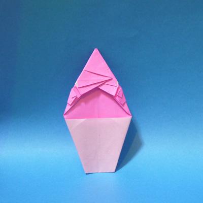 折り紙 ひも爺(妖怪ウォッチ)
