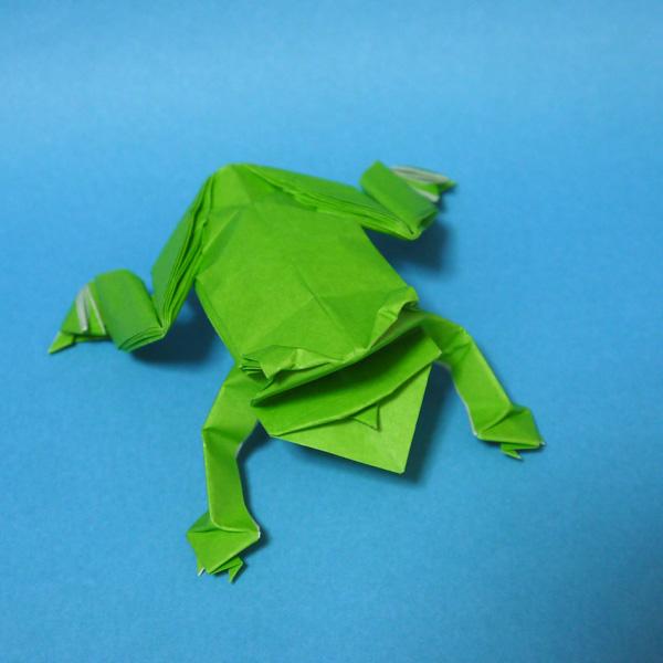 すべての折り紙 アンパンマン 折り紙 折り方 : 折り紙 カエル - 折り紙 Origami ...