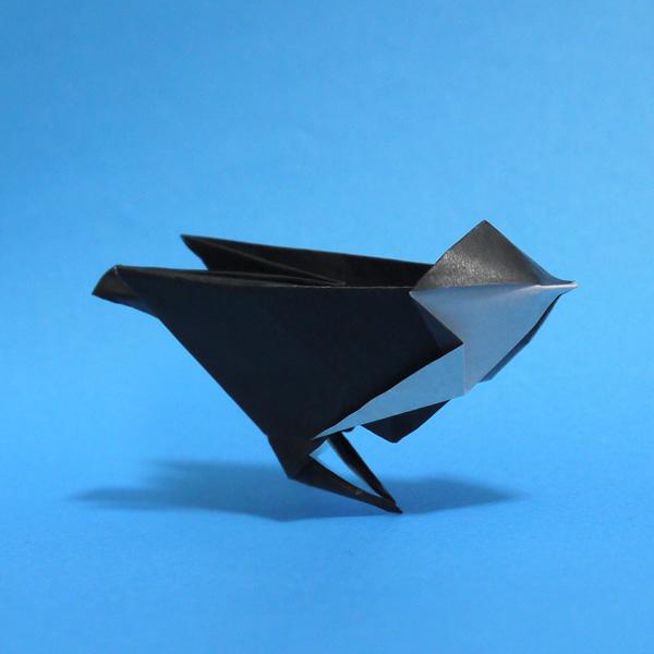 折り紙 シジュウカラ