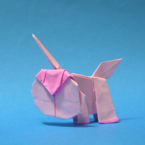 折り紙 ユニコ