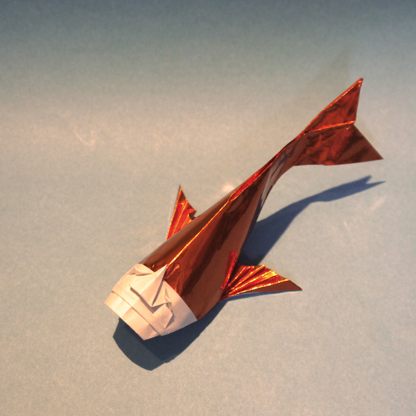 折り紙 人面魚