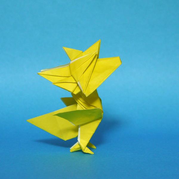 折り紙 ウッドストック