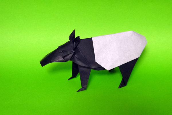 折り紙 マレーバク