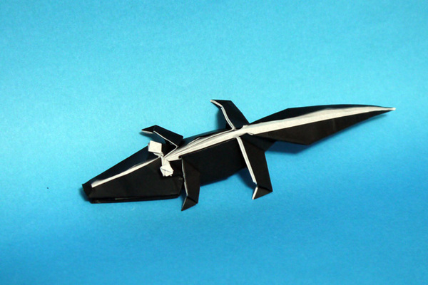 すべての折り紙 折り紙 ドラえもん 折り方 : 折り紙 ワニ - 折り紙 Origami ...