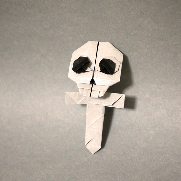 折り紙 骸骨