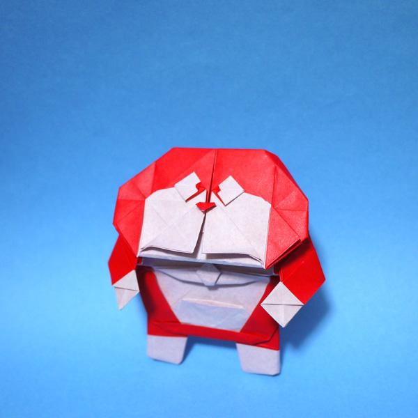 折り紙 ミニドラ