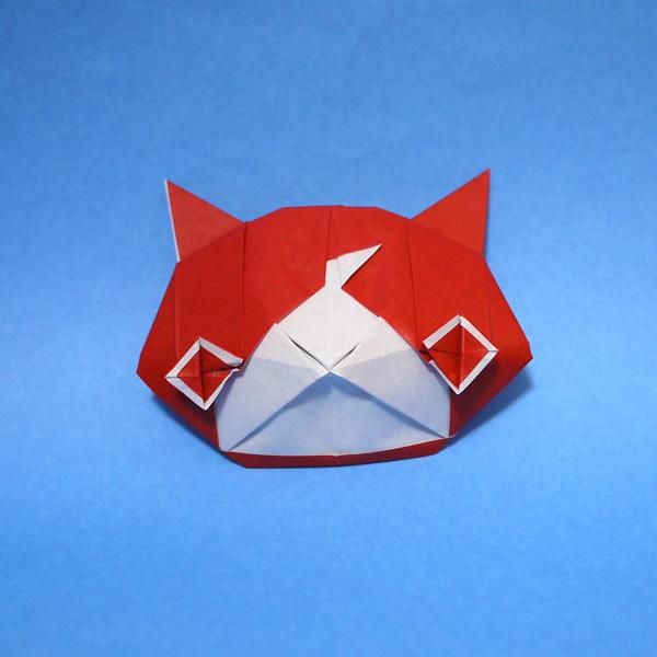 折り紙 ジバニャン(妖怪ウォッチ)