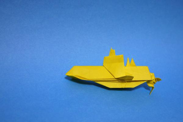 折り紙 潜水艦