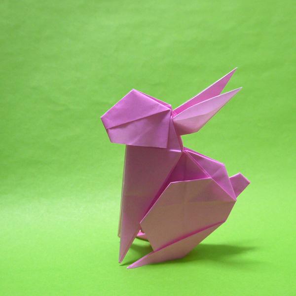 折り紙 うさぎ rabbit(十二支)