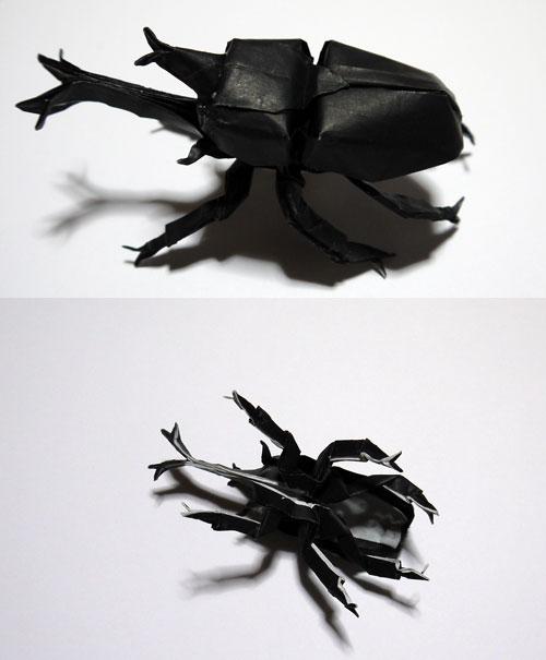 ハート 折り紙 カブトムシ 折り紙 折り方 : hagifood.com