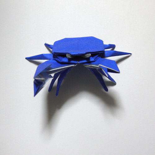 折り紙 蟹