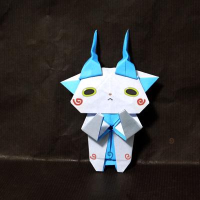 折り紙 コマさん(妖怪ウォッチ)