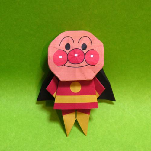 ハート 折り紙 アンパンマンの折り紙 : origamida.com