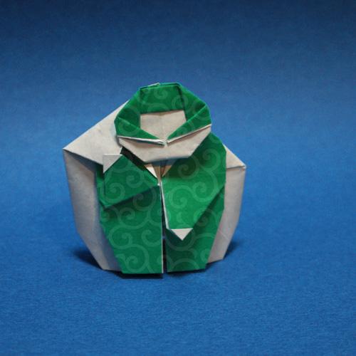 折り紙 泥棒