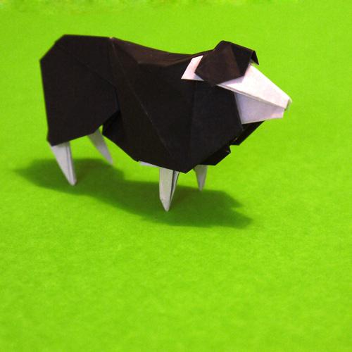 折り紙 ひつじ
