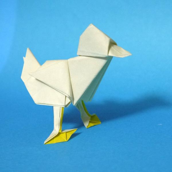 折り紙 アヒル