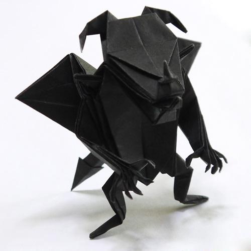 折り紙 悪魔