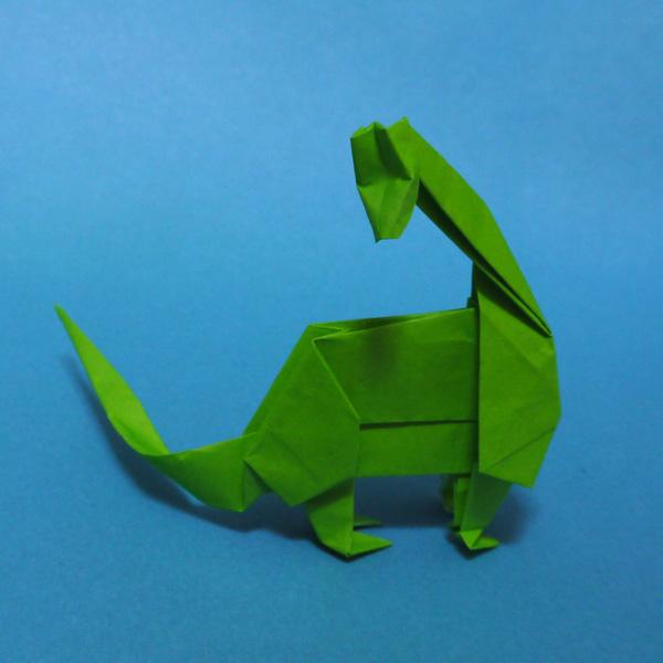 ハート 折り紙 恐竜 折り紙 作り方 : divulgando.net