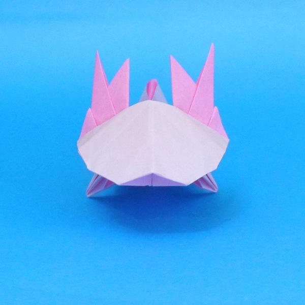 簡単 折り紙 りす 折り紙 : divulgando.net
