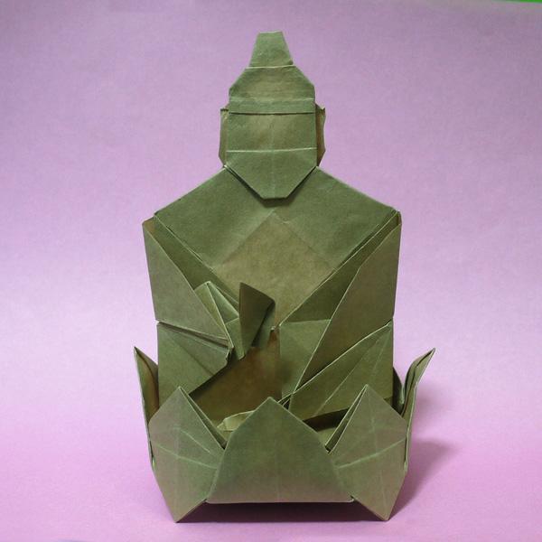 折り紙 仏像