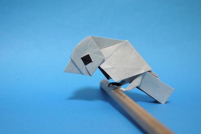 折り紙 文鳥