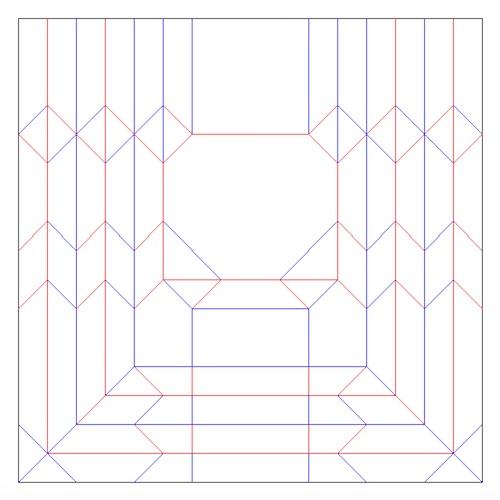 ちびまる子ちゃん折り紙の展開図