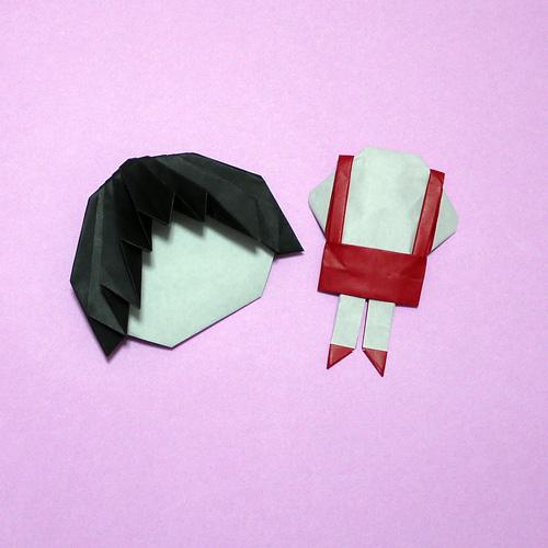 折り紙 ちびまる子ちゃん