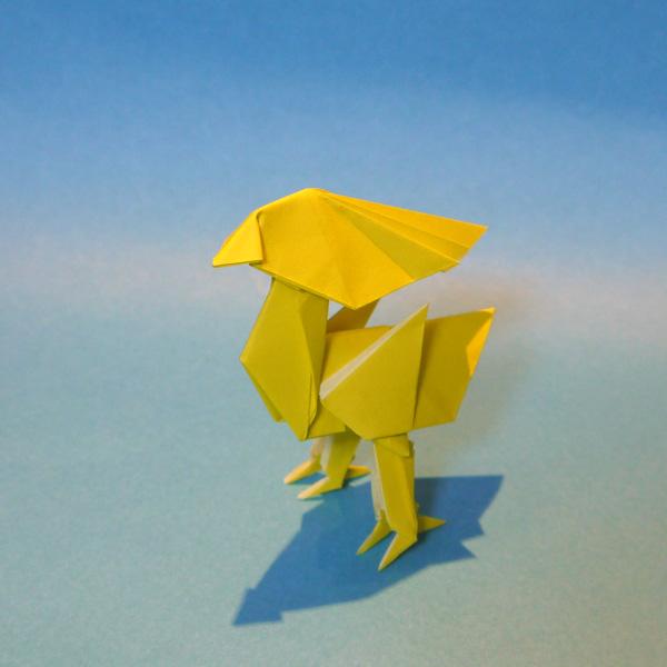 折り紙 チョコボ