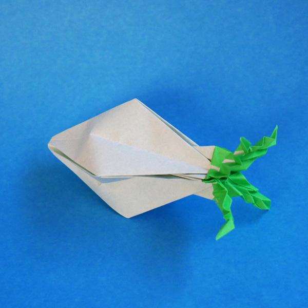 折り紙の大根