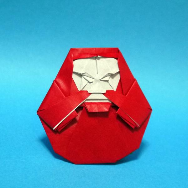 すべての折り紙 折り紙 恐竜 折り方 : 折り紙 だるま - 折り紙 Origami ...
