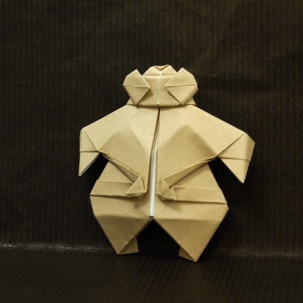 折り紙 土偶