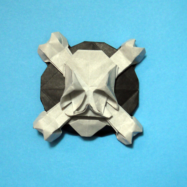 折り紙 海賊のドクロマーク