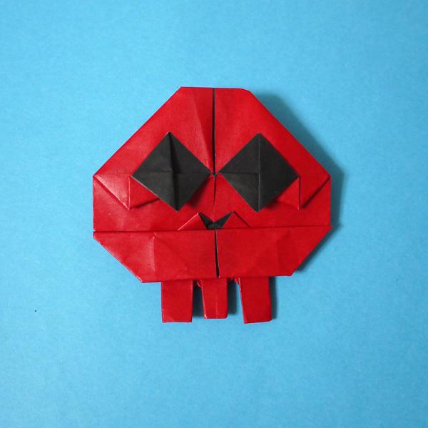 折り紙 ドクロベー