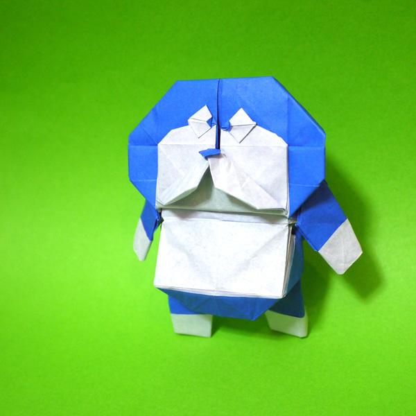 折り紙 ドラえもん全身