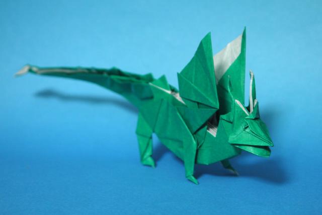 折り紙 ドラゴン