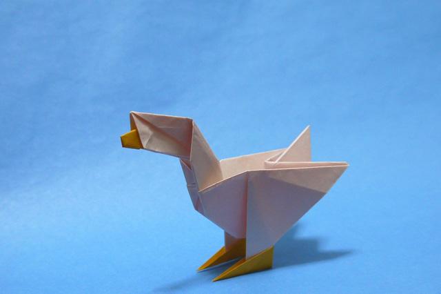 折り紙 ガチョウ