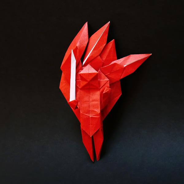 折り紙の不動明王