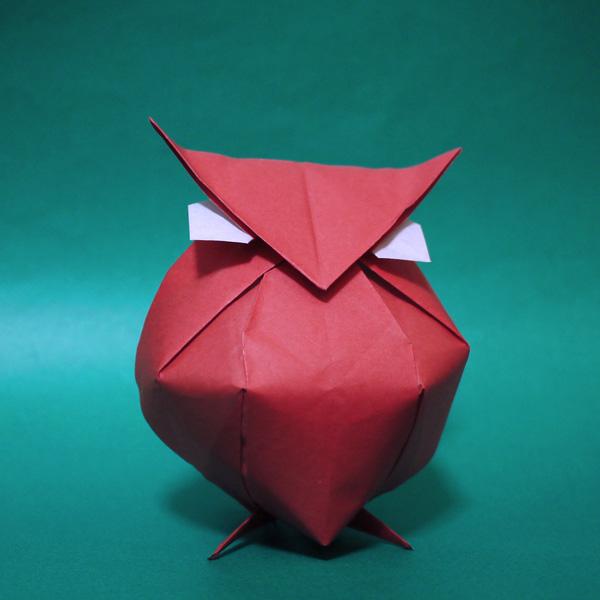 折り紙 フクロウ