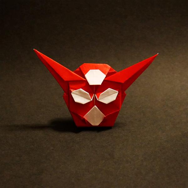 折り紙のゲッターロボ