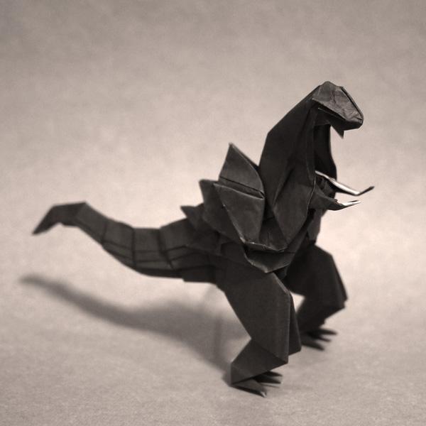 折り紙 シンゴジラのようなゴジラ