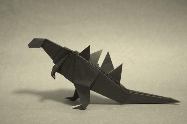 すべての折り紙 折り紙 メガネ : 折り紙 ゴジラ - 折り紙 Origami ...