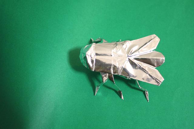 折り紙 蠅