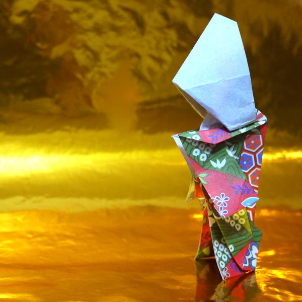 折り紙 花嫁