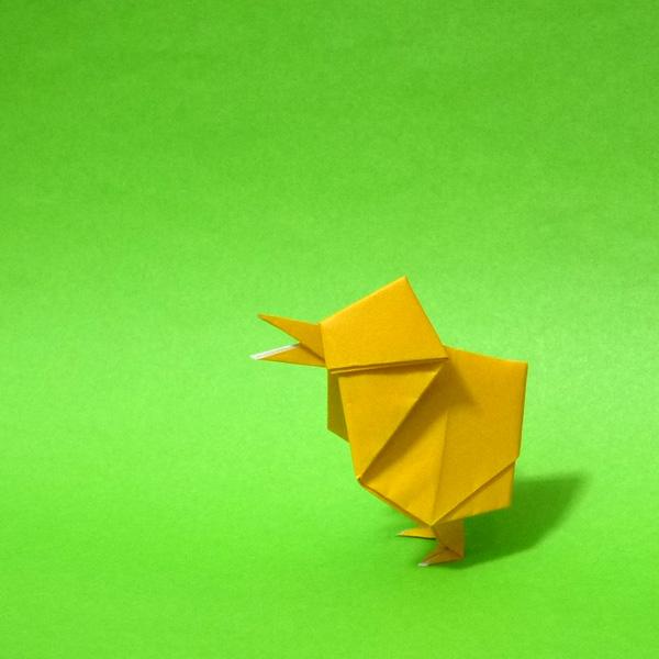 簡単 折り紙 折り紙 ひよこ : origamida.com