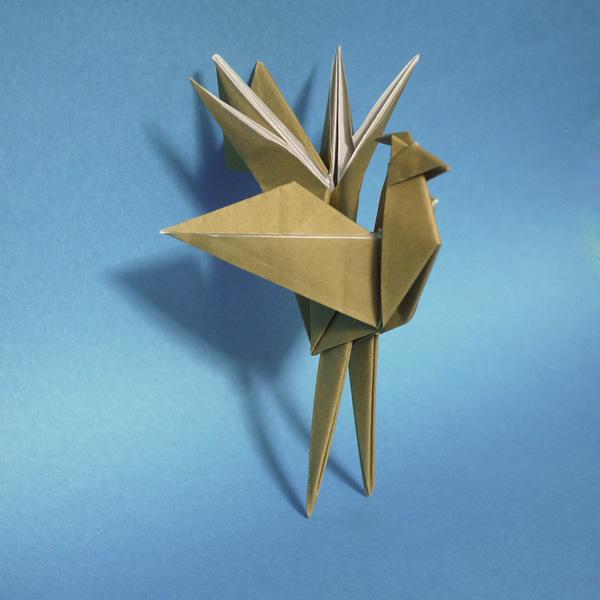 折り紙 鳳凰