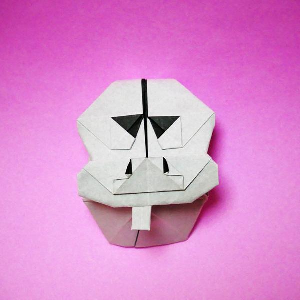 折り紙のヒョウタンツギ
